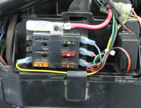 Fuse Block Installation